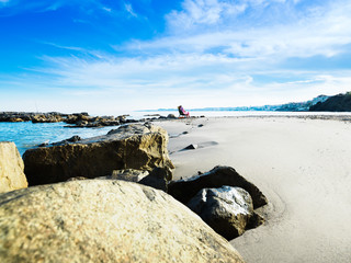 Playa de Arroyo Hondo, Benalmadena, Andalusia, Spain