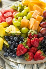 Raw Organic Fruit Platter