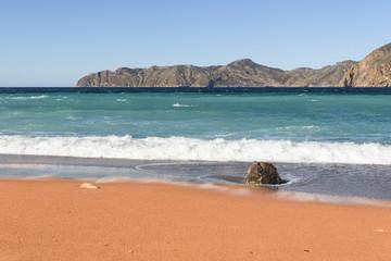 Cartagena bay in Spain