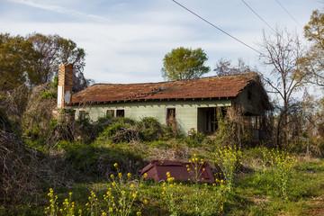Old abandoned house. USA, South Carolina