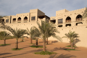 Fortress in the desert