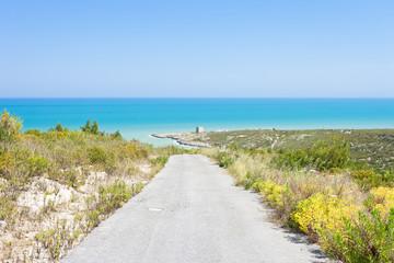 Lido Cala Lunga, Apulia - Hiking trail to Torre Cala Lunga