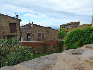 Llabia, pueblo de Torroellla de Montgri en el Emporda  en Gerona, Costa Brava (Cataluña,España)