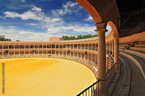 Plaza De Toros Bullring In Ronda Opened In 1785 One Of The