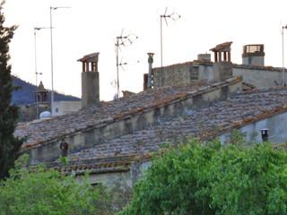 Monells, pueblo del Ampurdan  en Girona, Costa Brava (Cataluña,España)
