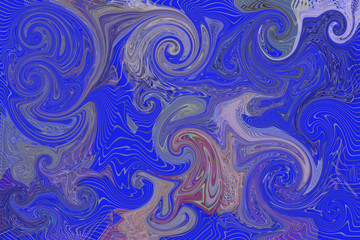 Abstract pixel twirls effects for background or texture Web, painting, generative & wallpaper.