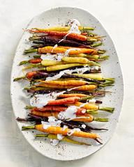 Carrots with Yogurt Sauce