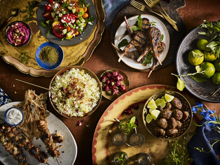 Moroccan Family Meal
