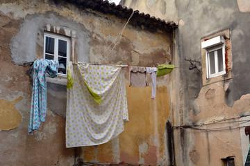 Drying laundry / Wäsche trocknen