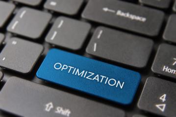 Business optimization seo computer keyboard button