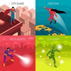 Superhero 2x2 Design Concept