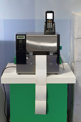 Barcode Label Printer and Scanner for Distribution Warehouse