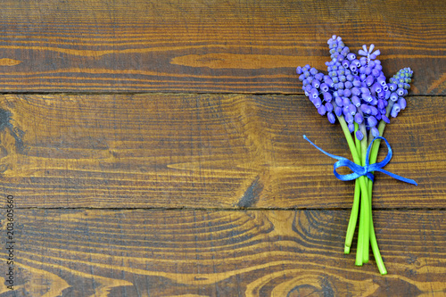 Mothers Day background with Mothers Day flowers