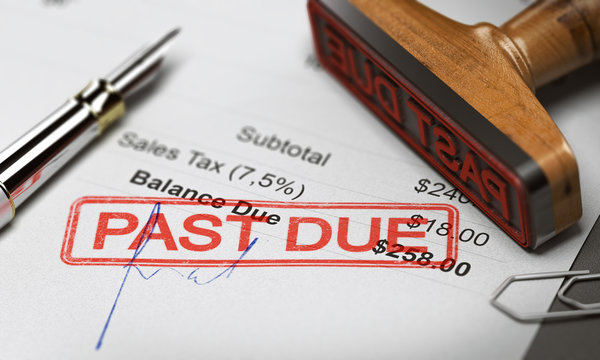Business Debt Collection or Recovery. Unpaid Invoice