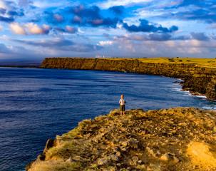 Southpoint cliffs Kailua Kona, Hawaii