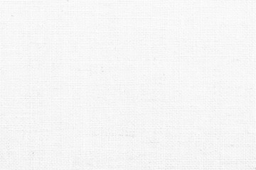 Hessian sackcloth woven texture pattern background in white grey color