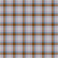 Tartan checkered square cubic fabric seamless design pattern