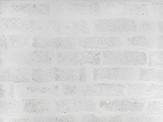 White painted brick wall background. White brick wall texture background, customizable, suitable for background use.