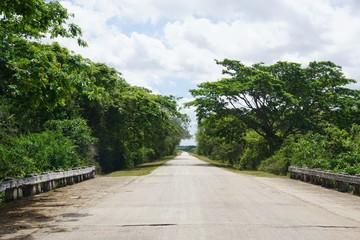 Straße auf Kuba