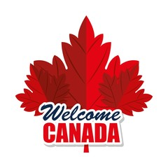 canada quality seal icon vector illustration design