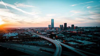 oklahoma city, usa, skyscrapers, buildings, architecture
