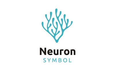 Neuron / Seaweed logo design inspiration