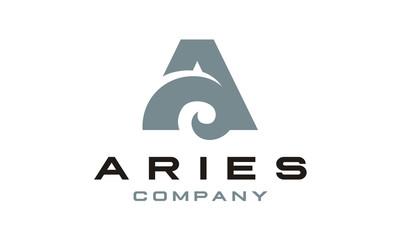 Aries / Initial A logo design inspiration