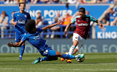 Premier League - Leicester City vs West Ham United