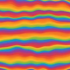 Hippie psychedelic vivid rainbow background. Iridescent gradient. Vector illustration