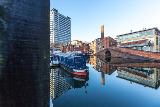 Brindley Canal - Gas St Basin - Birmingham