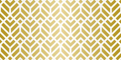 Luxury Geometric Pattern. Seamless Vector Lines. Golden Look.