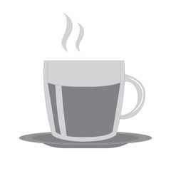 Isolated coffee mug icon