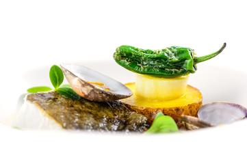 Impressive fish dish