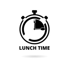 Time For Lunch, Flat Lunch Time icon