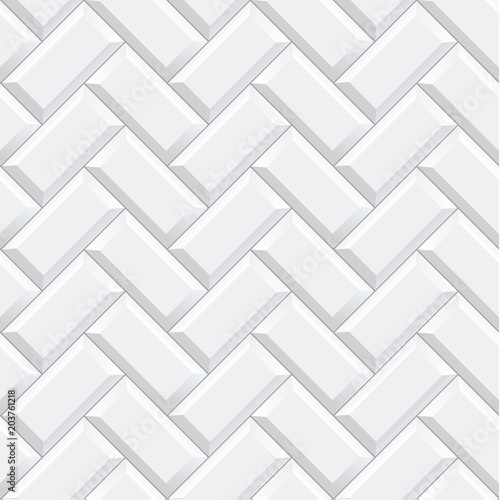 Quot Seamless Herringbone Subway Tile Texture Vector