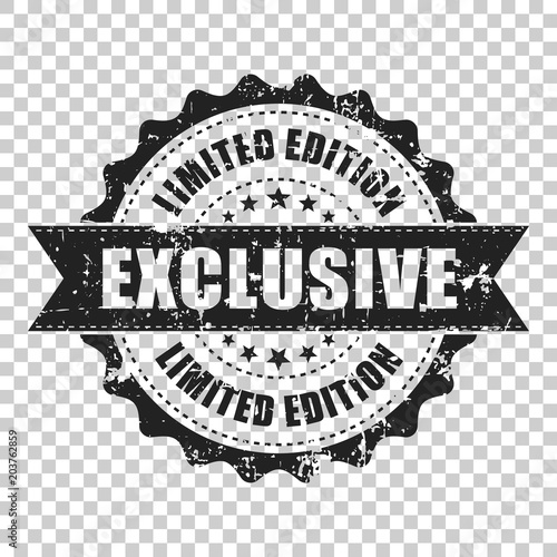 Exclusive Scratch Grunge Rubber Stamp Vector Illustration On Isolated Transparent Background Business Concept