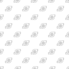 Air filter car pattern vector seamless repeating for any web design