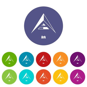 Ark icon. Simple illustration of ark vector icon for web