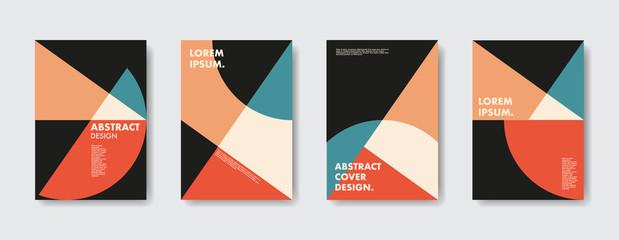 Geometric Retro Vibe Posters