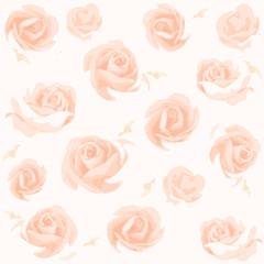 pattern of rose