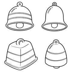 vector set of bells
