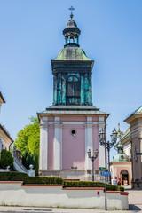 L'église Saint-Clément à Wieliczka