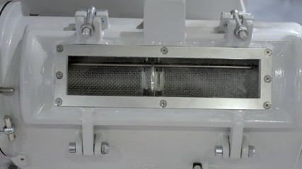 Fototapete - Pneumatic feeding system for polypropylene pellets for extruder machines