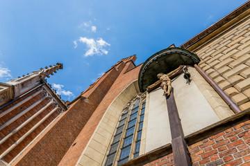 La basilique de Holly Trinity des Frères Dominicains de Cracovie