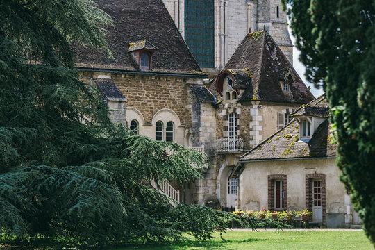 l'abbaye Pontigny France