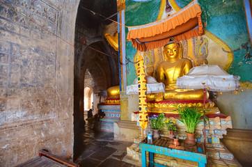 Inside the temple, Bagan, Myanmar
