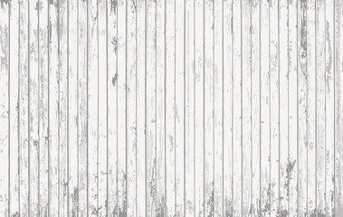 White wooden planks, table, floor surface. Cutting chopping board. Wood texture. Vector illustration