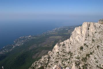 The Crimean steppe (the Surroundings of lake Chokrak)