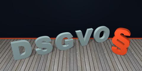 """Konzept """"DSGVO"""" Grundverordnung"""