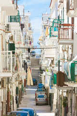 Vieste, Apulia - In the streets of the historical city center